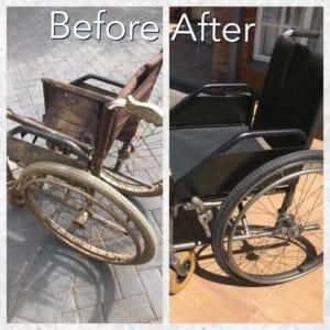 Wheelchair Refurbished